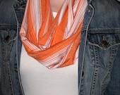 Orange Loop Scarf