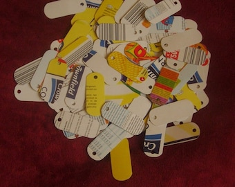 100 Eco Friendly Long Cardboard Price Tags Craft Tags Jewelry Tags - Big
