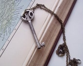 The Pantry Key Pendant : Genuine Victorian Key Necklace