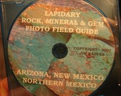 Arizona New Mexico Northern Mexico Lapidary Rock Mineral and Gem Photo Field Guide