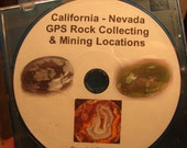 California Nevada GPS Rock Collecting and Mining Locations Tutorial