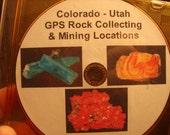 Colorado Utah GPS Rock Mineral Collecting Tutorial Mining Mine Locations