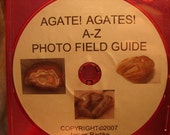 Agate Agates A to Z Photo Field Guide Tutorial Guide  on c.d. rom