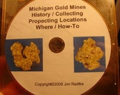 Michigan Gold Mines History Collecting Prospecting Locations Where How To Tutorial