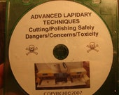 Advanced Lapidary Techniques Cutting Polishing Safely Dangers Concerns Toxicity