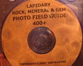 Lapidary Rock Fossil Gem And Mineral Photo Field Identification Guide 400 Minerals