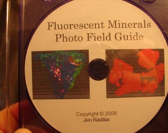 Fluorescent Minerals Photo Field Guide Tutorial on c.d. rom