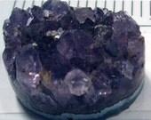 Amethyst Cabochon Druzy Oval - Stunning and Impressive Crystal Formations - Purple Druzy