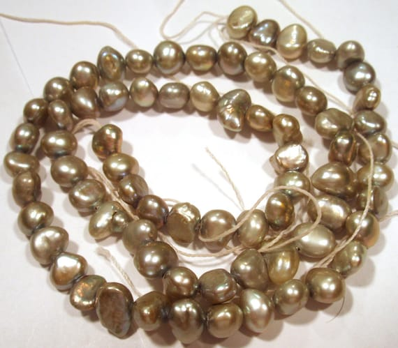 Reserve for Nodsu Fresh Water Cultured Pearls - Amorphous Silver