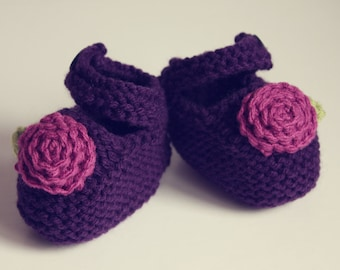 Loom Knit Baby Tennis Shoes