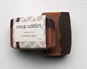 SALE Cinnamon spice handmade soap limited edition
