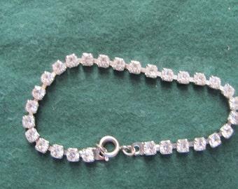 Vintage Elegant Rhinestone Bracelet