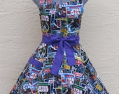 Star Wars Apron - Sexy Comic Strip Vintage - Full of Flounce