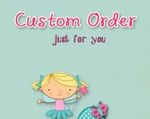 Custom Order for the Lemon Drop Girl by  LaLa Sassy Pants