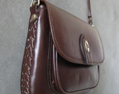 vintage Dior leather purse cross body with braid detail