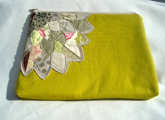 Patchwork Flower Bag- Neutral