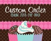 Custom Listing for Shauna