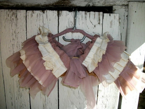 shabby chic capelet, collar, shawl,pink capelet, victorian, jane austen capelet, layers and frills, pastel capelet, one rose,wedding, spring