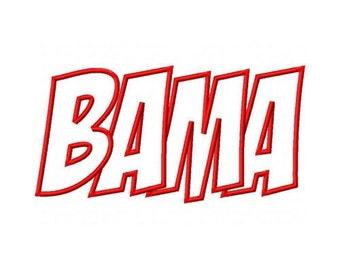 Bama Embroidery Machine Applique Design 10302