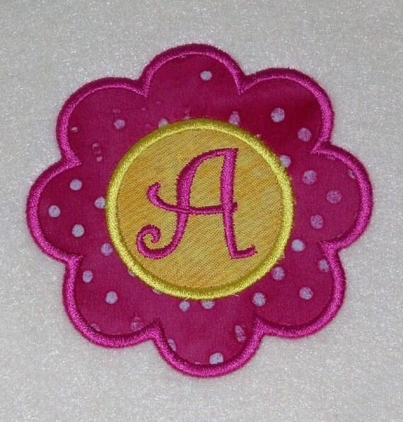 Flower Applique Curlz Embroidery Machine Alphabets Fonts and Monogram Sets 10195 INSTANT DOWNLOAD