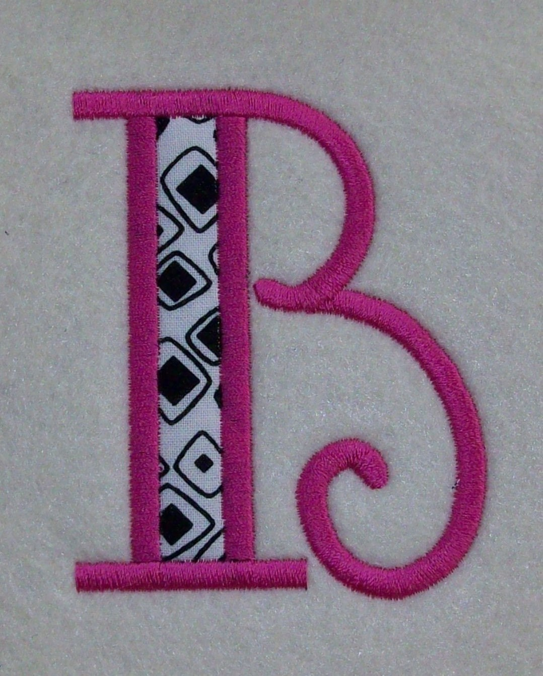 Embroidery machine applique alphabets fonts monogram set
