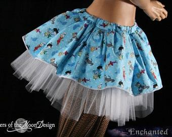 Jetsons Retro blue tutu skirt Adult  OOAK Size Small-- Ready to Ship