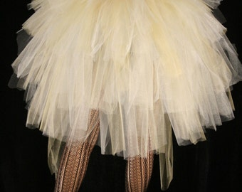bustle Mini Glimmer burlesque tie oncostume--One Size XS-XL--Enchanted Fairy Halloween