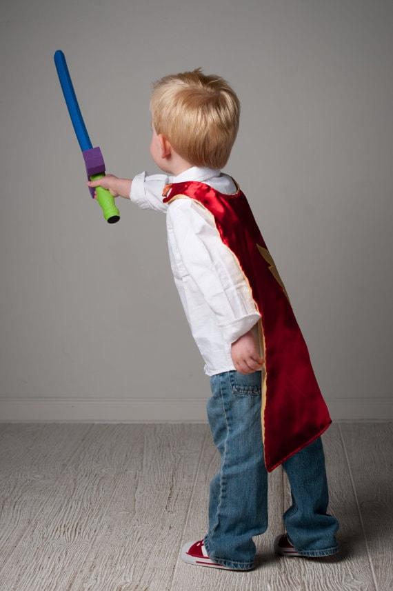 Custom Listing- 2 Super Hero Capes - for AlyssaZakariassen