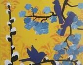 Blossoms VIII - 12x12 Original acrylic