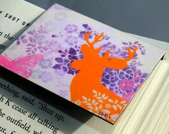 Magnetic Bookmark, Deer, Book Lover, Teacher Gift, Party Favor