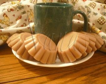 Caramel Cinnamon Latte Coffee Candle Wax Tart Melts