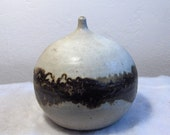 Wonderful Large Mid Century Globe Weed Pot