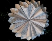 Vintage Rolled Paper Ornament