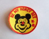 Be My Honey Bee - 1970's New Vintage Patch Applique