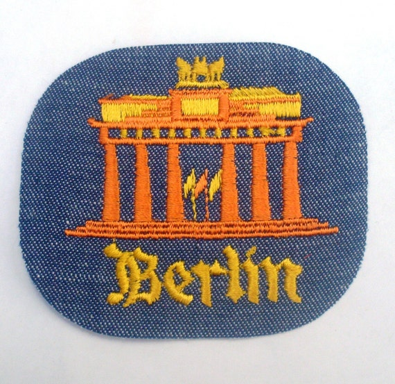 Berlin - Vintage 1970's Sewing Patch Applique