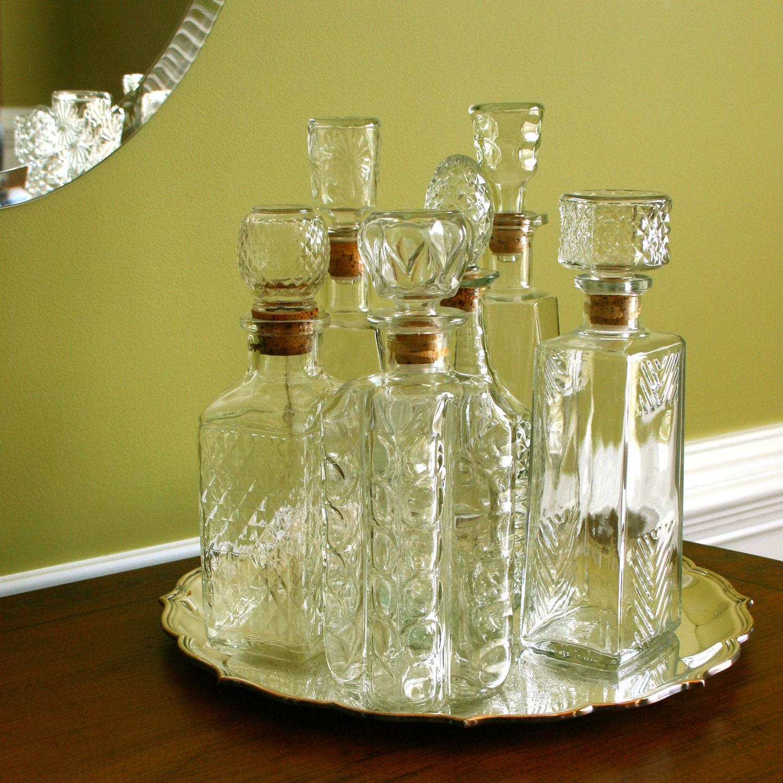 Vintage Decanter Bottle Stopper Barware Nightlife