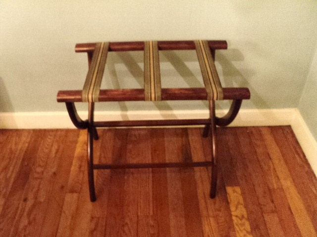 Vintage Luggage Rack