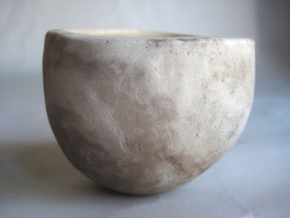 pit-fired whiskey cup: 3 oz