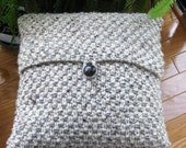 Hand Knitted Pillow Cover