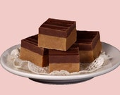 1 1/4 pounds chocolate and Peanut butter fudge