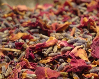 1 oz Rose lavender Loose Tea
