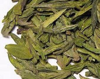 1 oz Dragon Well Green Tea