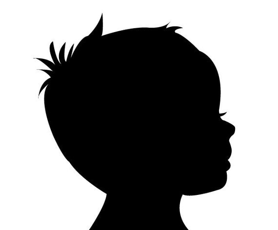 elysart's Portfolio on Shutterstock  Face Profile Silhouette Blowing
