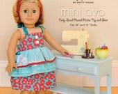 Mini Ava Doll Sewing Pattern MKSP 014MA Mod Kid Sewing Pattern