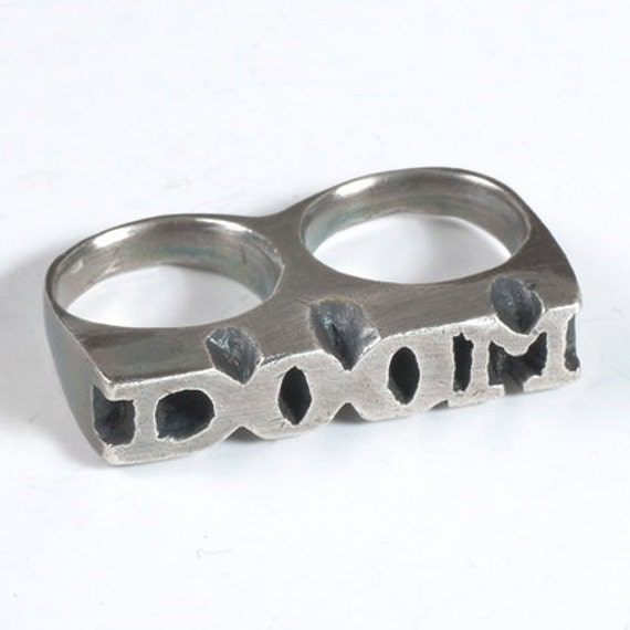 DOOM Two Finger Ring