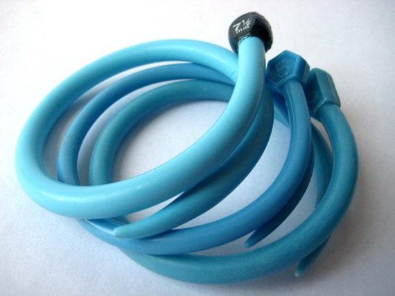 Knitting Needle Bracelets Turquoise Sky SMALL/MEDIUM
