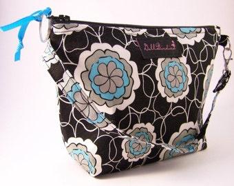 Grab and Go Wristlet Mini Purse/Cosmetic Bag/Bridesmaid Gift