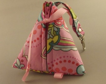 ON SALE Original Pacifier Pyramid/Coin Purse/Jewelry Bag/Small Item/Gift PouchTriangle Pod Pouch
