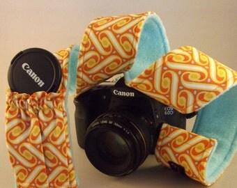 Dollbirdies Camera Strap Sleeve with Elasticized Pocket