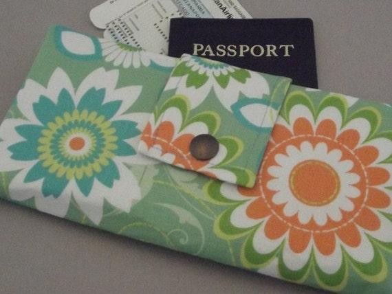 Dollbirdies Long Boarding Pass Passport Wallet